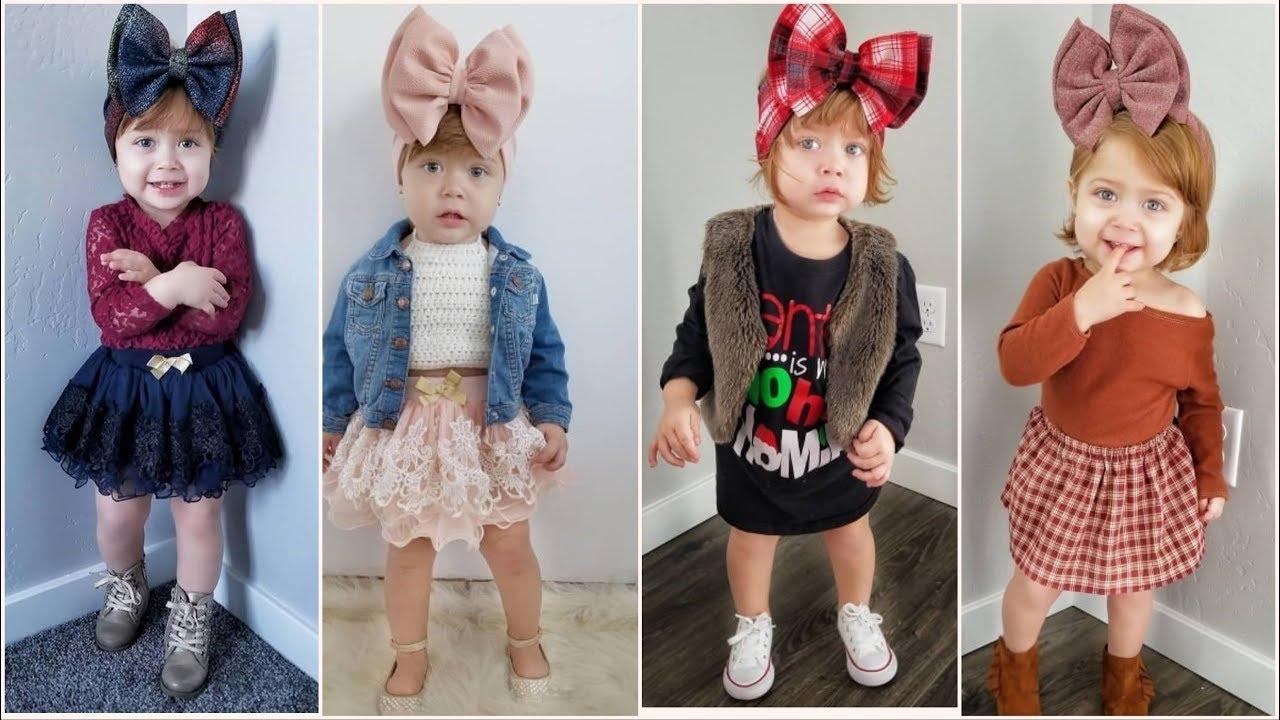 صورة ملابس بنات اطفال 2019 , وااااااااااو ملابس روعه اول مره تشفوها