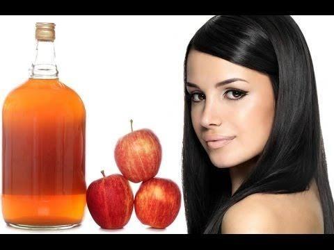 صورة خل التفاح للقشرة , فوائد خل التفاح لفروة الراس و منع ظهور القشرة