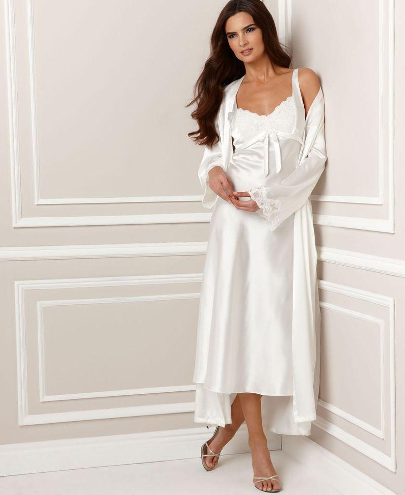 صورة موديلات قمصان نوم للعرايس , اشيك واجمل قمصان النوم لكل عروسة رقيقة