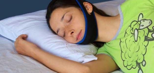 صورة الشخير اثناء النوم , علاج سريع وبسيط لمشكلة الشخير
