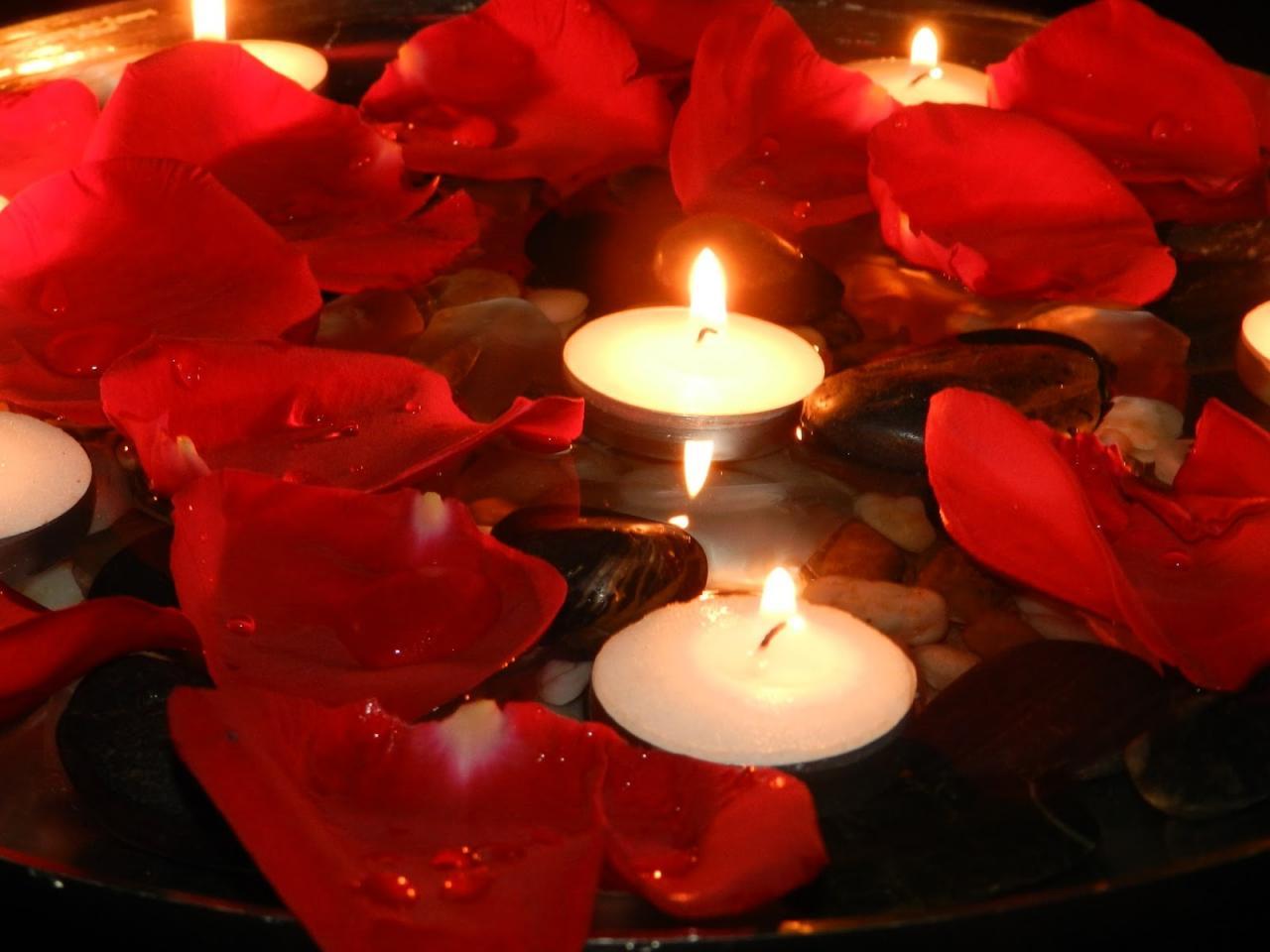 صورة اشكال شموع رومانسية , جو من الرومنسيات من الشموع 2536 1