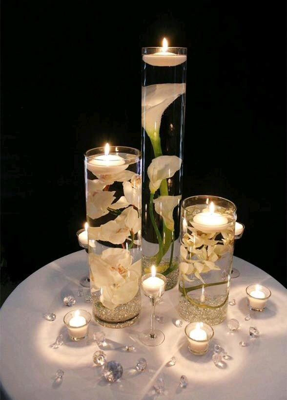 صورة اشكال شموع رومانسية , جو من الرومنسيات من الشموع 2536 3