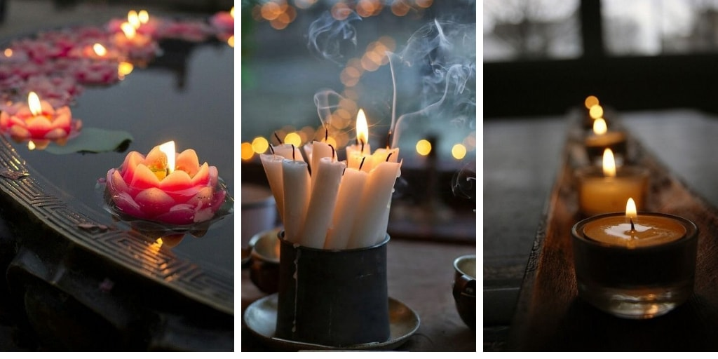 صورة اشكال شموع رومانسية , جو من الرومنسيات من الشموع 2536 6