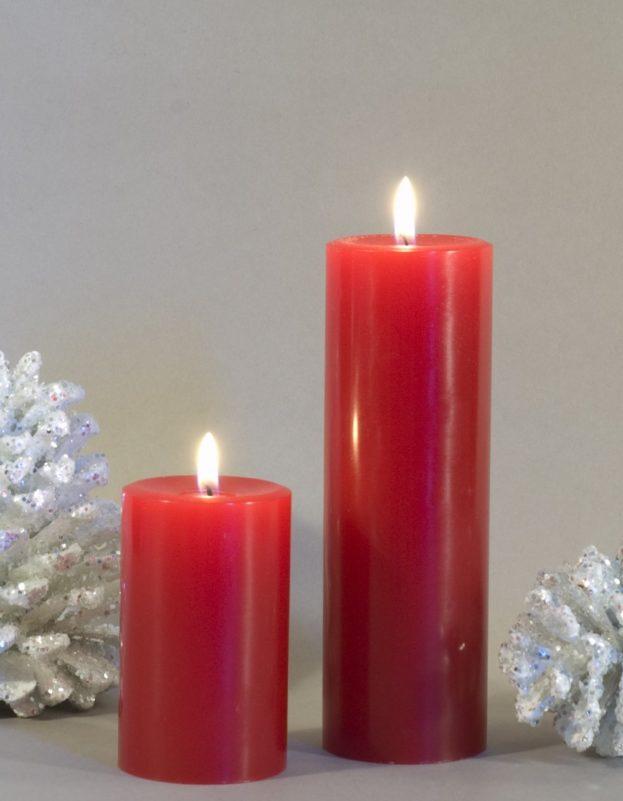 صورة اشكال شموع رومانسية , جو من الرومنسيات من الشموع 2536 8