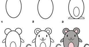 صور كيفية رسم الحيوانات , اسهل طرق لرسم الحيونات