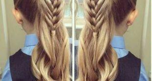 تسريحات الشعر الطويل للبنات الصغيرات , احلي تسريحات الشعر الطويل للبنات الصغيرات