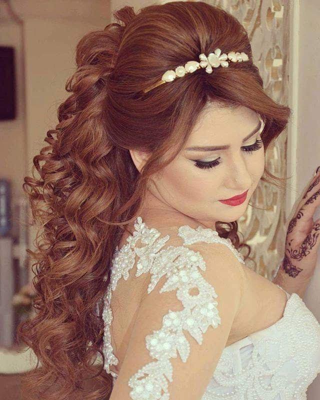 صور اجمل تسريحات الشعر للعرائس , اجمل تسريحات الشعر للعرائس مدهشه