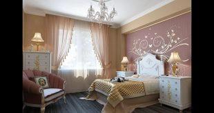 صور افضل تصميم غرفة نوم , ديكورات لعرف نوم مناسبه للعروسين