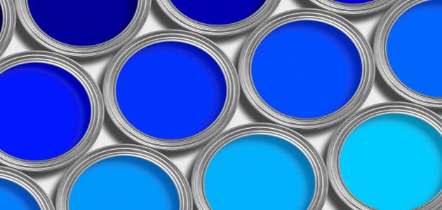 صورة تفسير حلم دهان البيت باللون الازرق , اللون الازرق وهل له دلالات حول الالوان فى المنام