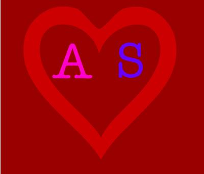صورة صور حرف s مع a , اشيك الاشكال والحروف المترابطة a & s