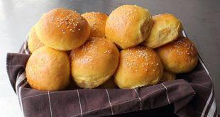 صور طريقة عمل خبز البرجر بعجينة العشر دقائق , اسهل وصفة لعمل ساندوتشات الكيزر للهمبرجر بعجينة العشر دقايق السريعة