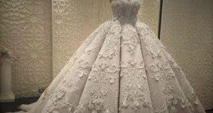فساتين زفاف روعة , حيرة فستان العمر بين الطلة الملكية والطلة الاسطورية