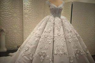 صور فساتين زفاف روعة , حيرة فستان العمر بين الطلة الملكية والطلة الاسطورية