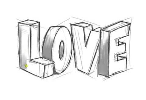 صور رسم عن الحب , نقوش ورسومات مبدعة بالايد عن الغرام