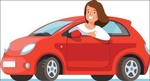 صورة تفسير رؤية ركوب السيارة للعزباء , حلم ركوب السيارة للفتاة