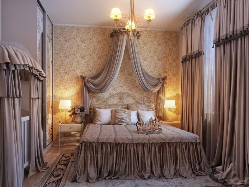 صورة مفارش غرف النوم , ديكورات غرف نوم مثيرة