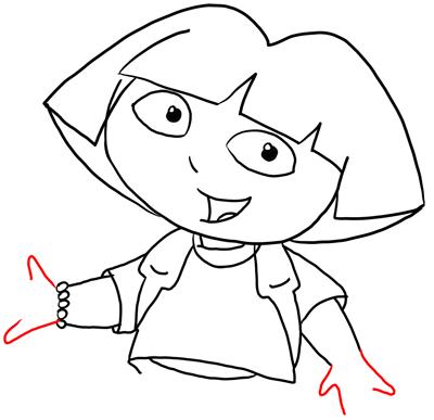 صورة كيفية رسم دورا , رسومات اطفال جميلة