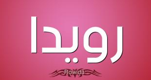 صورة معنى اسم رويدا , معاني اسماء 2019