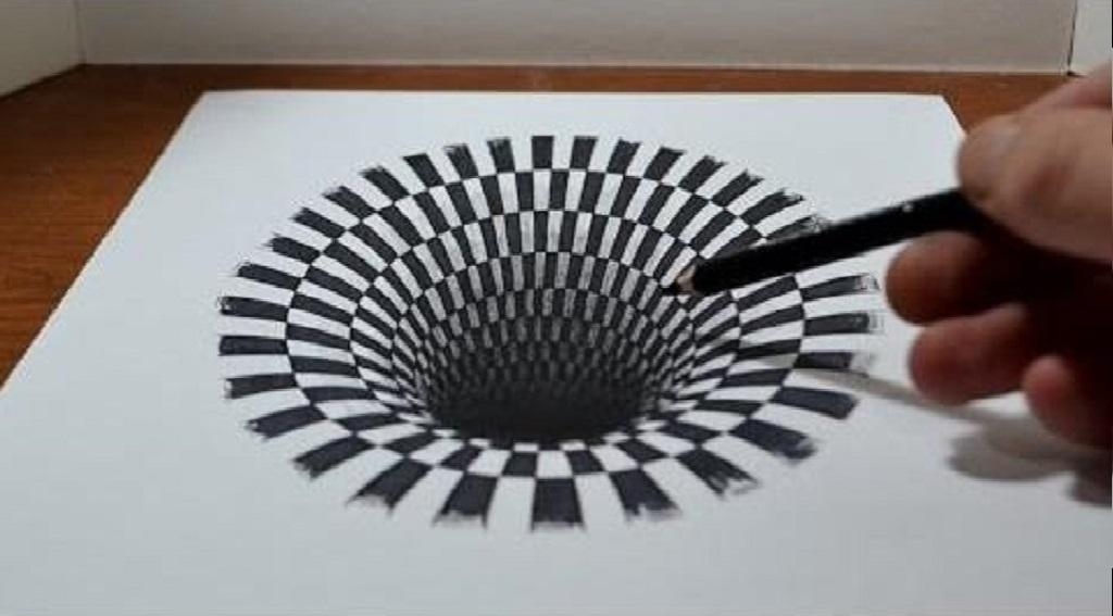 رسم ثلاثي الابعاد سهل رسومات اقرب للواقع دلوعه كشخه