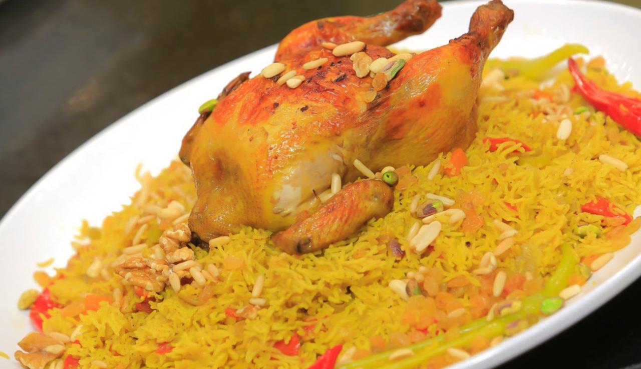صورة طريقة عمل الرز المندي بالدجاج بالصور , تعرفو علي الذ طريقه للدجاج