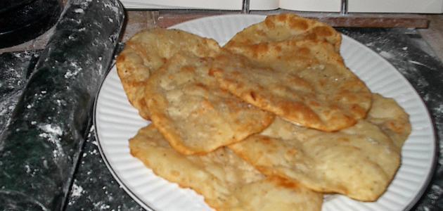 طريقة الخبز الهندي طريقة عمل الخبز الهندي المقلي دلوعه كشخه