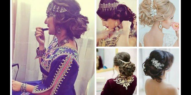 صورة تسريحات العروس الجزائرية , اجمل التسريحات للعروس