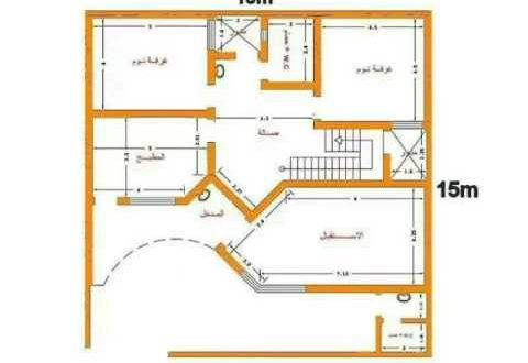 صورة خرائط بيوت 150 متر طابق واحد , ابني منزلك بتصميمك