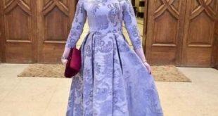 صورة فساتين كلوش للسهرات , اجمل ملابس للسهرة