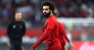 صورة برجراف عن محمد صلاح , لاعب ليفربول الشهير