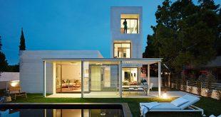صورة بيوت عصرية حديثة , اشكال بيوت من الخارج جميلة