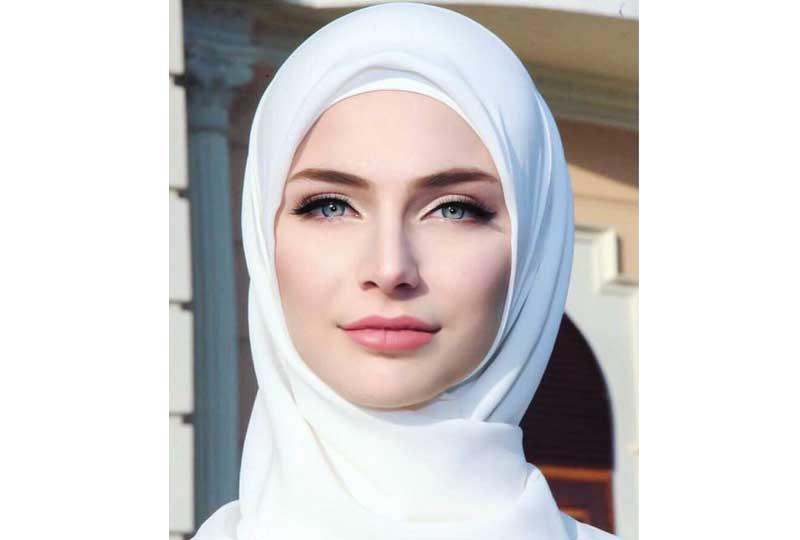 صورة اجمل لفات طرح , احدث لفة حجاب