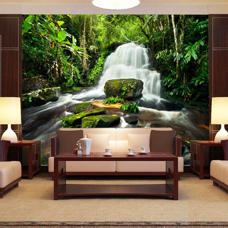 صورة ورق جدران مناظر طبيعية , احدث تصاميم لجدران المنزل