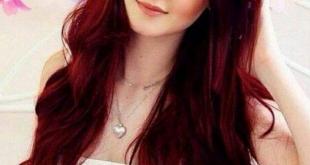 صورة لون الشعر اكاجو , اشيك درجات اللون الاكاجو للشعر