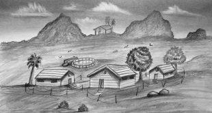 صورة كيفية رسم مناظر طبيعية , ازاي ارسم منظر طبيعي