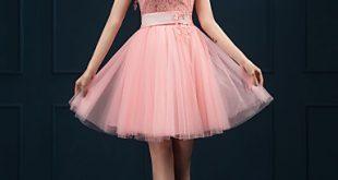 صورة فستان قصير منفوش , اجمل الفساتين القصيره المنفوشه