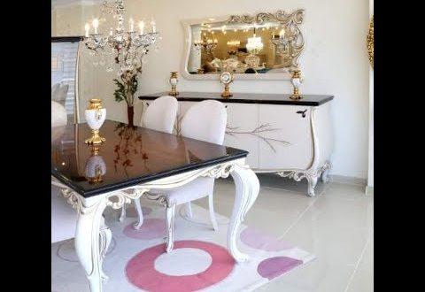 صورة صور غرف سفرة مودرن , اجمل اشكال غرف السفره المودرن