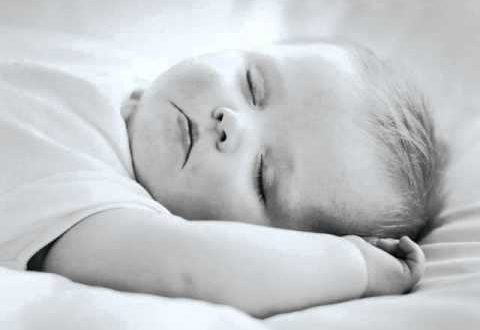 صورة دعاء نوم الطفل , دعاء عند النوم