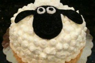 صورة كيكة خروف العيد , اعياد ميلاد بطريقه مختلفه
