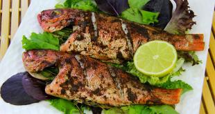 صورة صور سمك مشوى , تناول السمك للتخسيس