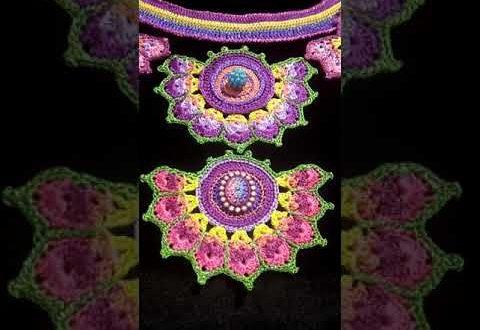 صورة جديد كروشي صدور , اعملي فستانك بايدك