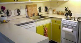 طريقة تنظيم المطبخ الصغير بالصور , زيني مطبخك بهذه الطريقة