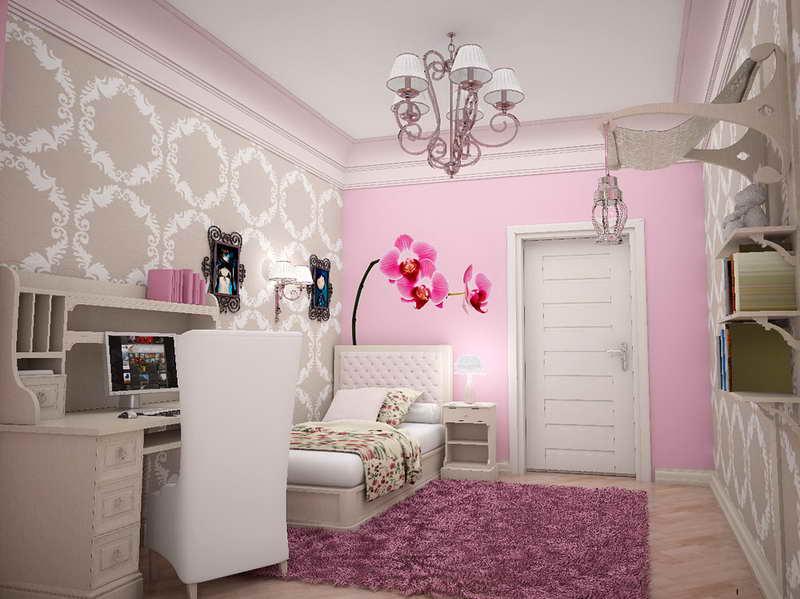 صورة اشكال غرف نوم بنات , اختاري غرفة نوم بتنك