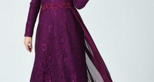 صورة فستان سهره دانتيل , اختاري اجمل فستان يناسبك