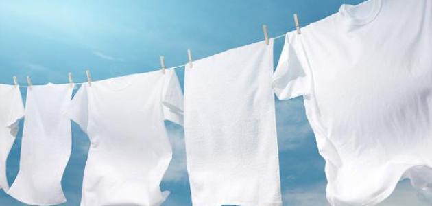 صورة تبييض الملابس البيضاء المصفرة , تخلصي من اصفرار الملابس 5906 3