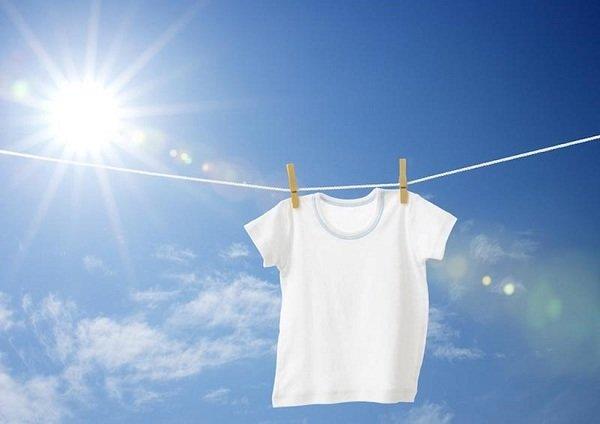 صورة تبييض الملابس البيضاء المصفرة , تخلصي من اصفرار الملابس 5906
