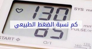 صورة كم الضغط الطبيعي , اعرف مستوى ضغط الدم الطبيعي
