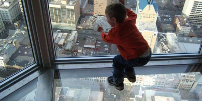صورة تفسير حلم سقوط الابن من مكان مرتفع , السقوط من مكان عالي في المنام