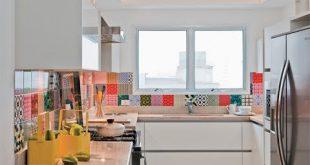 صورة ديكورات مطابخ ضيقة , اجمل مطابخ للمنازل الصغيرة