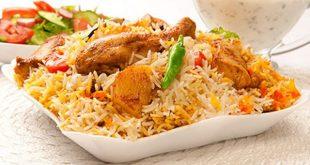 صورة برياني دجاج هندي , مكونات موجودة بكل منزل