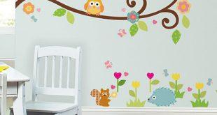 صورة رسومات حوائط غرف اطفال , ديكورات لحجرة طفلك تاخد العقل